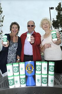 Leigh Lions Club (England) | Club member relaunched their message in a bottle program