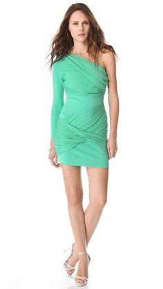 alice + olivia One Sleeve Goddess Dress  what a great dress!!
