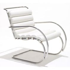 Bauhaus, Cantilever Lounge Chair by Ludwig Mies van der Rohe