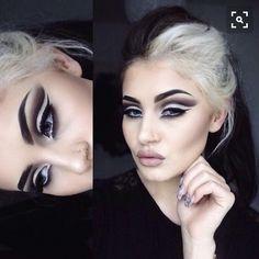 Cruella Deville Makeup