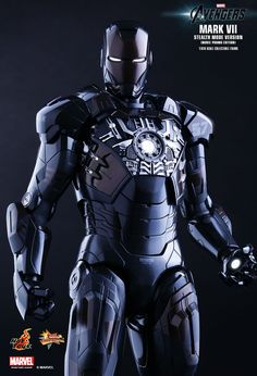 Hot Toys : The Avengers - Iron Man Mark VII (Stealth Mode Version) Movie Promo Edition 1/6th scale Collectible Figure