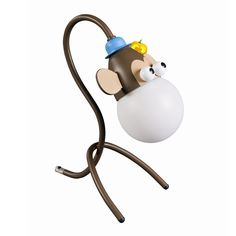 Monkey (Desk), Table & Floor Lights, Globug - Kids & Home Lighting Nursery Decor, Room Decor, Nursery Ideas, Light Table, Kids House, Home Lighting, Monkey, Kids Room, Table Lamp