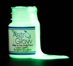 Astro glow-in-the-dark paint.