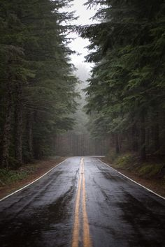 A beautiful (and slightly scary/depressing) picture of a road. ❤️