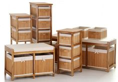 1000 images about caixas cestas e ba s on pinterest - Muebles de mimbre para bano ...