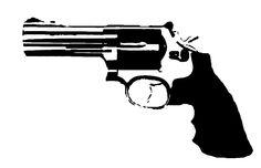 Revolver stencil template