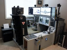 Flat out; best flight-sim cockpit ever! (by DudleyAZ). I have no interest in flight sims at all but...WOW. Just...Wow.