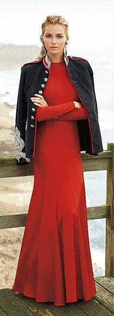 Ralph Lauren - Dress Character Hair Earrings Jacket Coat