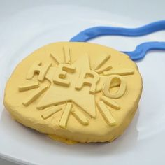 A decorated hero! Bake your own #WreckItRalph medal cookie from @Disney_Family.