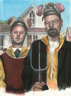 American Gothic is Breaking Bad by Magdalena Almero from Seville, Spain