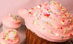 Yum! Pink cupcake