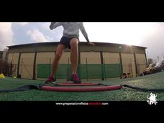 #Tennis footwork on speed ladder - YouTube