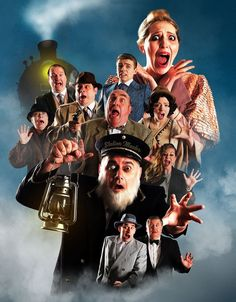 Review of The Ghost Train at The Brookside Theatre