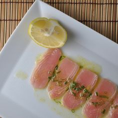 Opah, Two Ways (David Tanis-Inspired Crudo and Seared Fish) | Turntable Kitchen