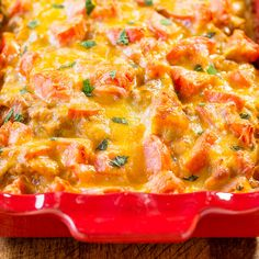 I love Mexican food and could eat it everyday.Making meals out of guacamole, salsa, and chips is one of my favorite things. But my family needs a little more and that's where this easy enchilada bake that's ready in 30minutes comes in. It's not like traditional enchiladas where you have to carefully fill and roll …