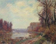 """""""Woods de l Oise (1919)"""", 1919 de Gustave Loiseau (1865-1935, France)"""