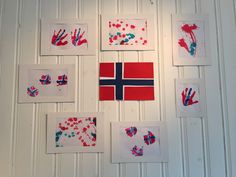 17. Mai pynt laget av barna på småbarnsavdelingen:) Diy For Kids, Crafts For Kids, Constitution Day, Diy And Crafts, Arts And Crafts, Norway, Kindergarten, Projects To Try, Education