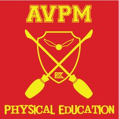 AVPM Physical Education - Red Tee  I love me some Team Starkid