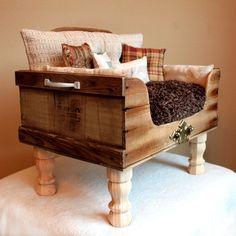 Custom Pet Bed Victor Pet Lounger by designercraftgirl on Etsy,