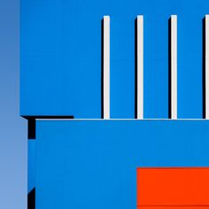 minimal blue orange red photography architect architecture geometric beauty beautiful composition landscape mindsparkle mag