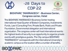 #cop22 #bioxparc #Marrakech #morocco #research #businesscenter #congresscenter