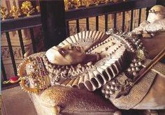 Westminster Abbey: The rest of Mary is buried at Westminster Abbey, in the same tomb as her sister Elizabeth I, which is in Elizabeth's image. Mary's coffin is set below Elizabeth's.    Tomb of Queen Elizabeth and Queen Mary