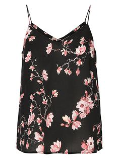 Floral printed camisole from VERO MODA. Style with a pair of black jeans and heels for a girls night out