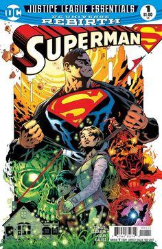 Dc Justice League Essentials Superman #1 Rebirth