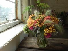 flower arrangements for country style wedding uk - Google Search