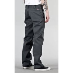 dickies pants | Home Men Jeans & Pants Dickies 873 Slim Work Pant Charcoal