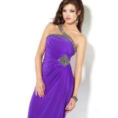 chiffon-purple-party-dress