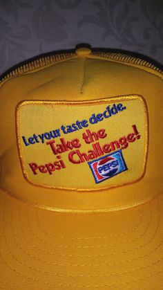 Vintage Take The Pepsi Challenge 1980's by UrbanVintageChic