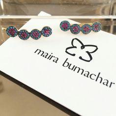 O nosso mais novo earcuff disponível na loja virtual!!! Já conferiram as novidades??? www.mairabumachar.com.br