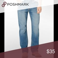 Calvin Klein Relaxed Straight Jeans Calvin Klein Relaxed Straight Jeans. I have two pair of this item. Size is 34x32 and 40x30, color is blue. Jeans are in good shape and would look good with a nice sweater. Calvin Klein Jeans Jeans Relaxed