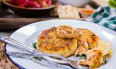 """Home & Family - Recipes - """"Taste of Home"""" Magazine's Crab Cakes with Peanut Sauce 