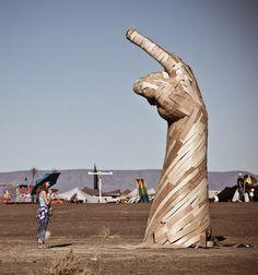 Afrika Burn Art and sculpture - South Africa.