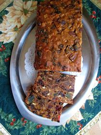Hot and Cold Running Mom - Just my Stuff: Super Easy Fruitcake