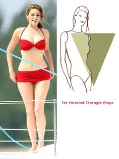e2095b967da Bikini For Inverted Triangle Body Shape Más Inverted Triangle Outfits