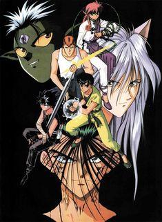 Tags: Yu Yu Hakusho, Urameshi Yuusuke, Kurama, Hiei, Kuwabara Kazuma, Thorns