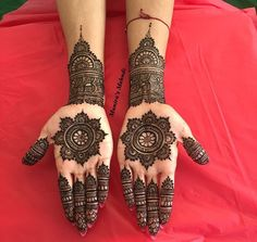 Round Mehndi Design, Rose Mehndi Designs, Indian Mehndi Designs, Modern Mehndi Designs, Mehndi Design Pictures, Wedding Mehndi Designs, Latest Mehndi Designs, Arabic Henna Designs, Arabic Mehndi