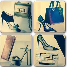 4 combinaciones de carteras y zapatos para lucir esta navidad. 1- #ferragamo 2-#dior 3- @gucci  4- zapatos: schutz y sobre: #rafe #moda #fashion #zapatos #carteras #christmas #gift #shopping #ideas #Padgram
