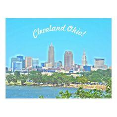 #photo - #Cleveland Ohio Sunny Lake View Postcard