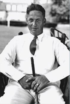 Bobby Jones the Atlanta golf player who really glamorized golf in the twenties and thirties and was the star golfer of the time., #golf #BobbyJones