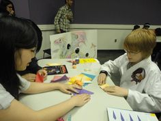 Asian Heritage Month Celebration - Learning Origami