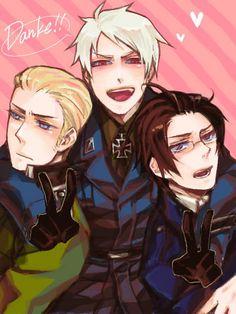 Austria, Germany & Prussia