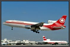 Air Canada Lockheed L-1011-385-1 TriStar 1 C-FTND is still wearing hybrid Air Lanka colours at Miami-International, January 1983. The aircraft had been leased to Air Lanka for several months in 1981. (Photo: Bob Garrard)