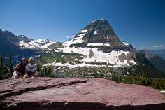 Dave and I at Hidden Lake Overlook, Glacier National Park, Montana.