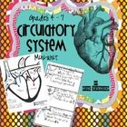 This mini-unit is designed to teach the circulatory system in two weeks. In a combination Grade I try to alternate units each year but I love. Science Education, Teaching Science, Health Education, Life Science, Science Ideas, Science Experiments, Physical Education, Human Body Unit, Human Body Systems