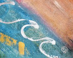 Original Abstract Painting by Katy Tackes Chalkboard Border, Aloha Spirit, Paper Art, Saatchi Art, Original Paintings, Abstract Art, Products, Papercraft, Gadget