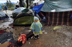 Die Zustände in den Zeltlagern sind vor allem für die Kinder unzumutbar (Foto...